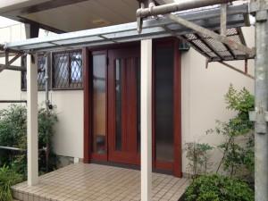 川村邸玄関ドア入れ替え完了