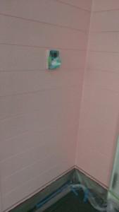 鹿野邸外壁中塗り