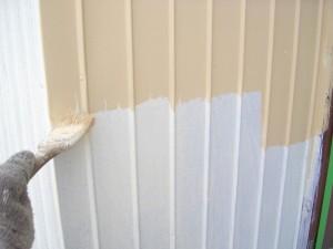 3棟目09壁中塗り状況