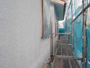 高橋邸壁下塗り
