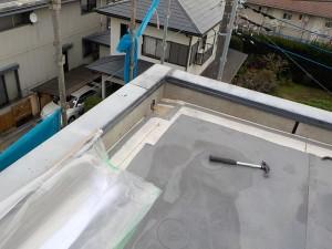 上之薗邸屋上防水改修2