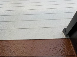 相原様壁上塗り